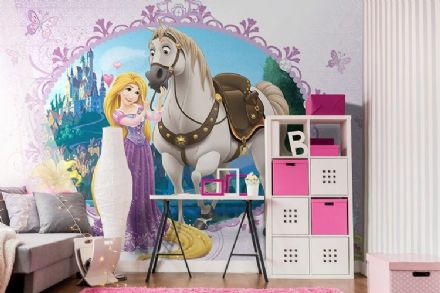 "Wallpaper mural Disney ""Rapunzel Fairy tale"""